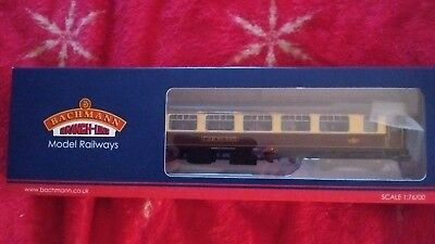 "Bachmann 39-300C BR MK1 SK Pullman Second Kitchen Umber & Cream ""Car No 335"""
