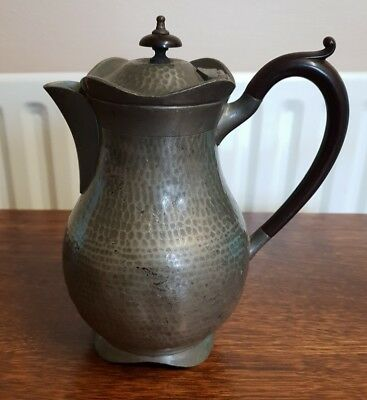 antique pewter craftsman TEAPOT