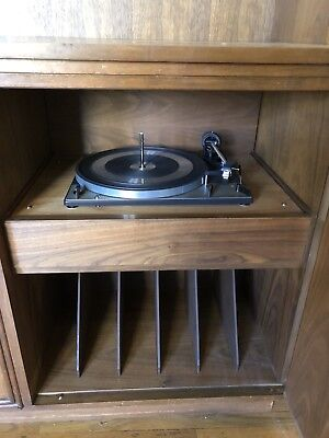 VIntage DUAL 1219 Turntable With Original Manual