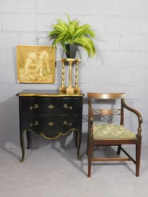 A Good French Antique Design Bombe Chest Of Drawers