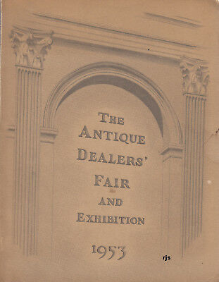 #3 The Antique Dealers Fair and Exhibition 1953 13th Exhibition Grosvenor House