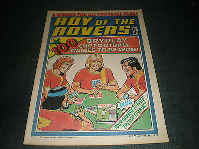 Roy Of The Rovers Comic Book 21St Oct 1978 Football Gift Idea Birthday Christmas