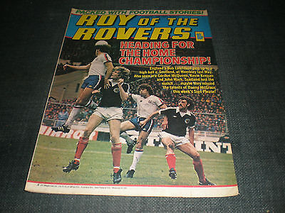Roy Of The Rovers Comic Book 11Th Aug 1979 Football Gift Idea Birthday Christmas