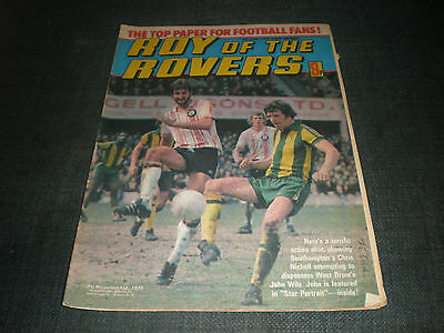 Roy Of The Rovers Comic Book 9Th Jun 1979 Football Gift Idea Birthday Christmas