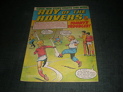 Roy Of The Rovers Comic Book 16Th Jun 1979 Football Gift Idea Birthday Christmas
