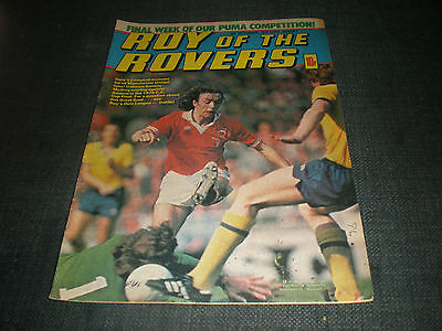 Roy Of The Rovers Comic Book 8Th Sept 1979 Football Gift Idea Birthday Christmas