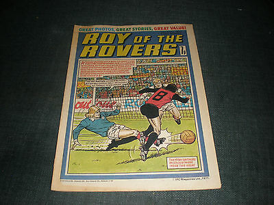 Roy Of The Rovers Comic Book 30Th Apr 1977 Football Gift Idea Birthday Christmas