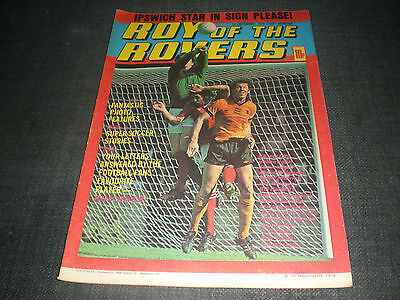 Roy Of The Rovers Comic Book 1St Dec 1979 Football Gift Idea Birthday Christmas
