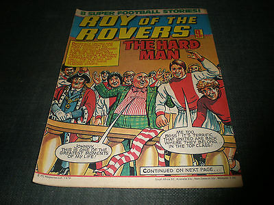 Roy Of The Rovers Comic Book 30Th Jun 1979 Football Gift Idea Birthday Christmas