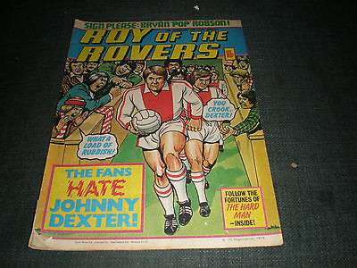 Roy Of The Rovers Comic Book 10Th Nov 1979 Football Gift Idea Birthday Christmas