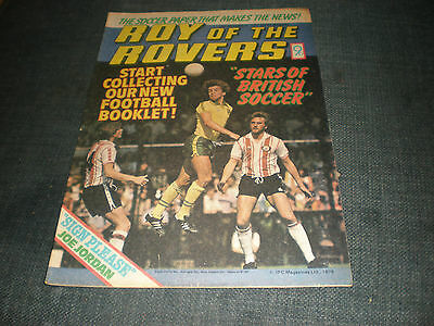 Roy Of The Rovers Comic Book 25Th Nov 1978 Football Gift Idea Birthday Christmas