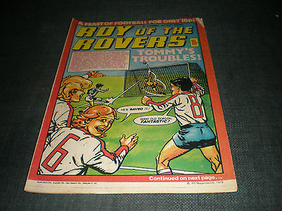 Roy Of The Rovers Comic Book 3Rd Nov 1979 Football Gift Idea Birthday Christmas