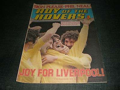 Roy Of The Rovers Comic Book 23Rd Jun 1979 Football Gift Idea Birthday Christmas
