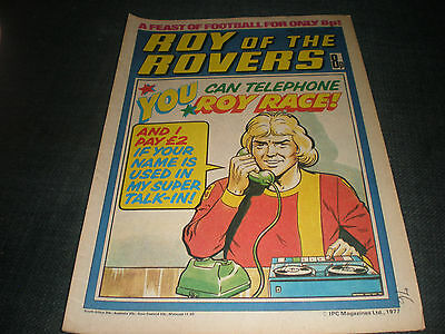 Roy Of The Rovers Comic Book 29Th Oct 1977 Football Gift Idea Birthday Christmas