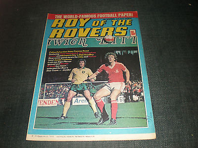 Roy Of The Rovers Comic Book 15Th Dec 1979 Football Gift Idea Birthday Christmas