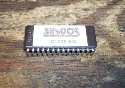 Commodore 64/128 1571 disk drive JiffyDos chip
