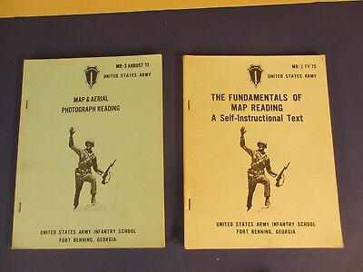Army Map & Aerial Photograph Reading & A Self-Instructional Text MR-2 & 3 73 &75