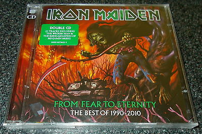 IRON MAIDEN-FROM FEAR TO ETERNITY-EU 2xCD 2011-NEW & SEALED