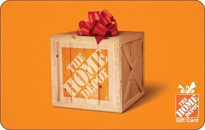 $100 The Home Depot Gift Card