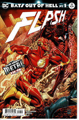 Flash #33 (5th Series) Bats Out of Hell Dark Nights Metal Tie In DC Rebirth