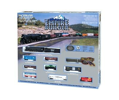 Bachmann 1/160 N Empire Builder Freight Train Set Item # 24009 Factory Sealed