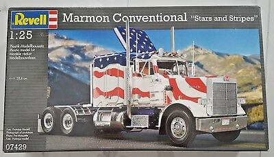 """Revell 1/25 Marmon Conventional """" Stars And Stripes """" Model Kit # 07429 New F/s"""