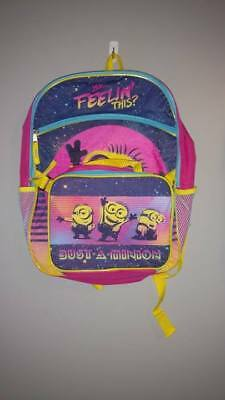 Nwt Despicable Me 3 Minions Accessory Innovations Backpack With Bonus Lunchbox