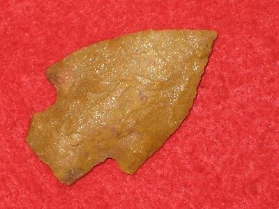 Authentic Native American artifact arrowhead Missouri corner notch point T5