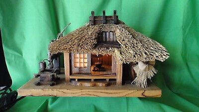 Antique Japanese Tea House With Night Light