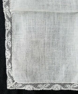 A12 Vintage Lace Hanky Hankies Wedding Bridal Baptismal Christening