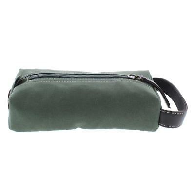 251178dfc5 Timberland Mens Green Canvas Utility Cord Case Travel Kit O S BHFO 7501