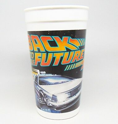 Rare Vintage 1989 Back To The Future Part 2 Pizza Hut Collectible Cup Pepsi