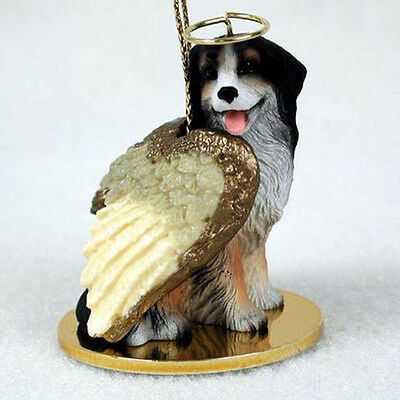 BERNESE MOUNTAIN DOG ANGEL DOG CHRISTMAS ORNAMENT HOLIDAY Figurine Statue