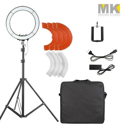 14'' LED Photo Video Dimmable Adjustable Ring Light Kit + Light stand