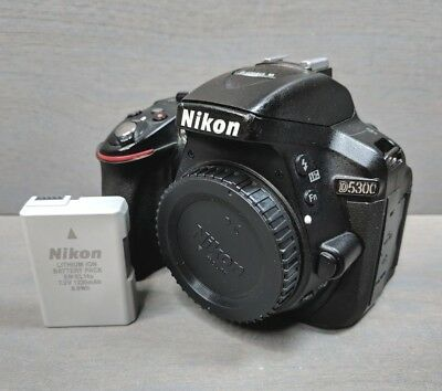 Nikon D5300 24.2MP Digital SLR Camera - Black (Body Only)