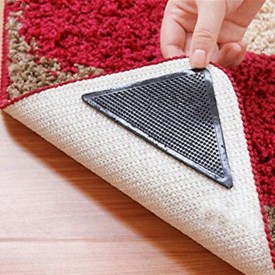 Reusable Rug Carpet Mat Grippers Anti Slip Silicone Grip Skid Tape