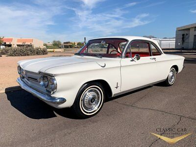 1962 Chevrolet Corvair Monza 900 Coupe 1962 Corvair Monza 900 Coupe - Extremely Clean Car - Rust Free - Auto - Mint!
