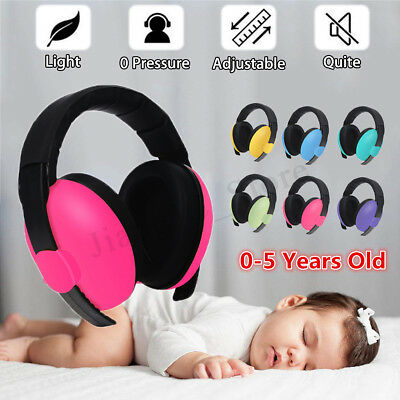 Adjustable Baby Infant Earmuffs Hearing Protection Ear Muffs Noise Reducing