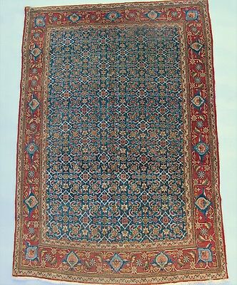 Good Antique Kashan Carpet / Rug