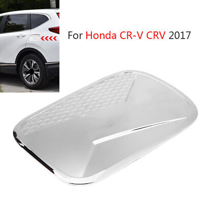 ABS CHROME FUEL Tank Cover Trim Gas Tank Cap Protector For