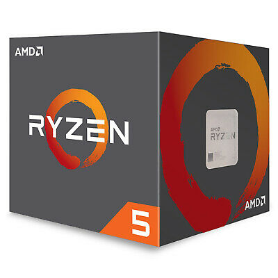 AMD Ryzen 5 2600X Processor 16 MB Cache 3.6 GHz AM4 6 Core 12 Thread Desktop CPU
