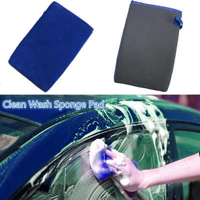 Clay Mitt Clay Bar Mitt Clay Gloves Microfiber Car Wash Gloves Car Washer Useful
