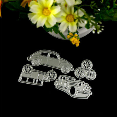 4pcs Classic Cars Metal Cutting Dies For DIY Scrapbooking Album Paper Cards PJU