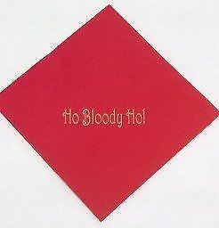 Christmas Bloody Ho Table Paper Serviettes Party Tableware Dinner Lunch Napkins