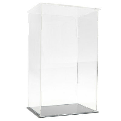 Clear Acrylic Display Box Dustproof Case for Figure Model Doll Display Cube