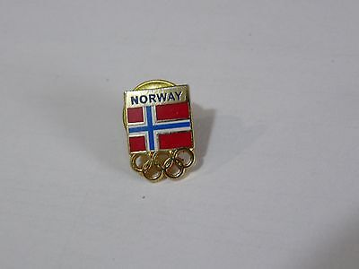1994 Lillehammer Olympic Games Norway NOC Pin