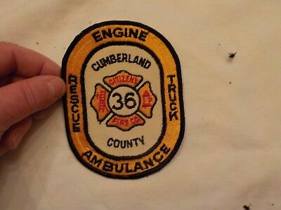 Citizens Fire Co. Patch Cumberland County Mt. Holly Springs Pa.