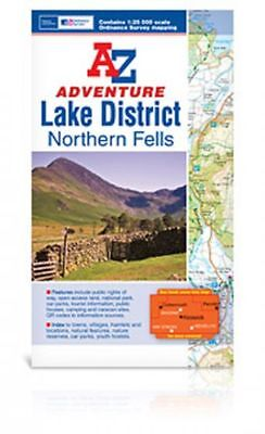 Lake District (Northern Fells) Adventure Atlas by Geographers' A-Z Map Company (