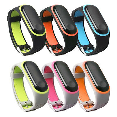 For Xiaomi Mi Band 3 Strap Band Silicone Wristband Watch Replacement Bracelet