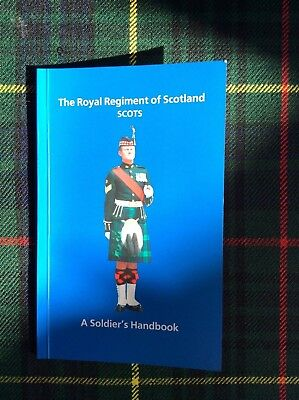 The Royal Regiment of Scotland 'A Soldiers Handbook' book